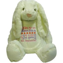 Personalised mumble white rabbit