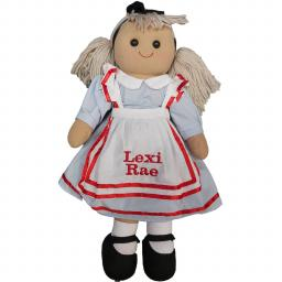 Personalised Alice in wonderland ragdoll 40cm