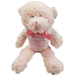 Personalised mumbles old fashined style teddy bear