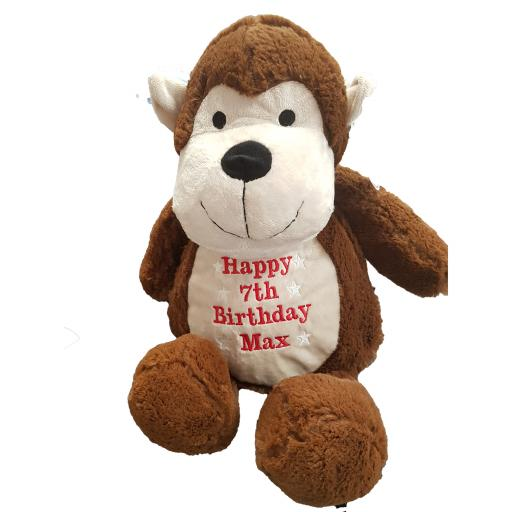 Personalised mumbles monkey