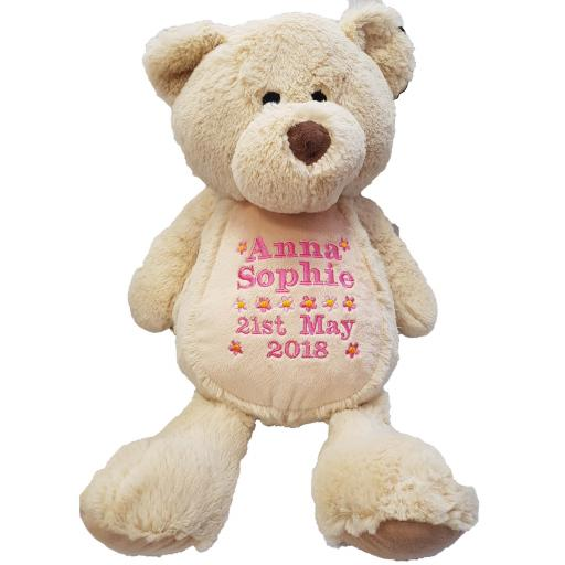 Personalised mumbles honey bear